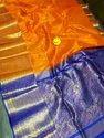 Wedding Wear Kuppadam Silk Kuppadam Gold Buti Silk Sarees, 6 M (with Blouse Piece)