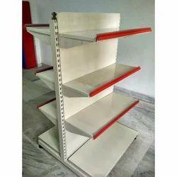 Metal IVORY T Type Gondola Rack, For Supermarket