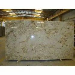 Honed Slab Colonial Gold Granite, Flooring, Thickness: 15-20 mm
