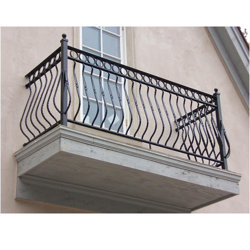 Cast Iron Balcony Railing, कास्ट आयरन रेलिंग, ढलवां लोहे ...