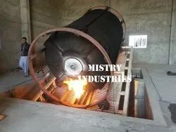 Open Flame Plastic Tank Making Rock And Roll  Machine