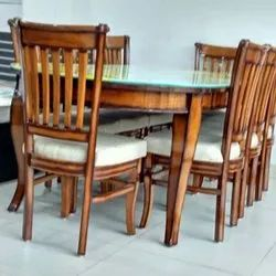 8 Seater Wooden Dining Table