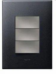 6 AX 230 V Arteor 1 Way Switch Red Rocker Plate