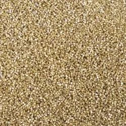 Eshoppee 8/0 Golden Seed Bead for Jewellery Making Material Art And Craft Making Diy Kit