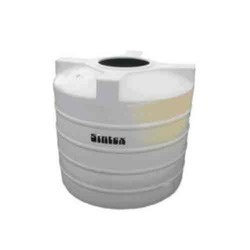 Sintex White Cylindrical Vertical Chemical Storage Tank