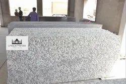 Polished Big Slab Pearl White Granite, Thickness: 15-20 mm, Countertops