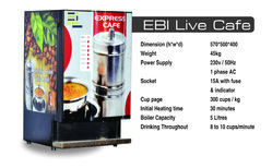 Live South Indian Filter Coffee Vending Machine