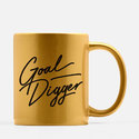 Printed Golden Mug