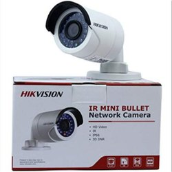 Bullet Camera 3 MP Hikvision Mini Bullet IP Camera, Lens Size: 3.6mm