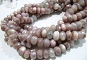 Natural Peach Moonstone Beads
