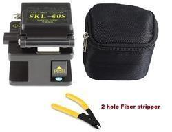 Fiber Cleaver Optic Splicer Ftth Wire Stripper Stripping Tool
