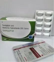 Teneliglipitin  20 mg Metformin 500 mg