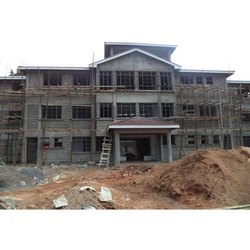 Concrete Frame Structures Commercial Projects School Building Construction Services
