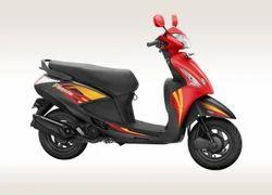 Matte Grey & Red Pleasure Scooter