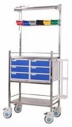 Crash Cart Stainless Steel Uni-Pro