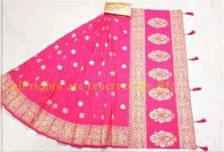 Very Heavy Two Tone Sana Silk Saree
