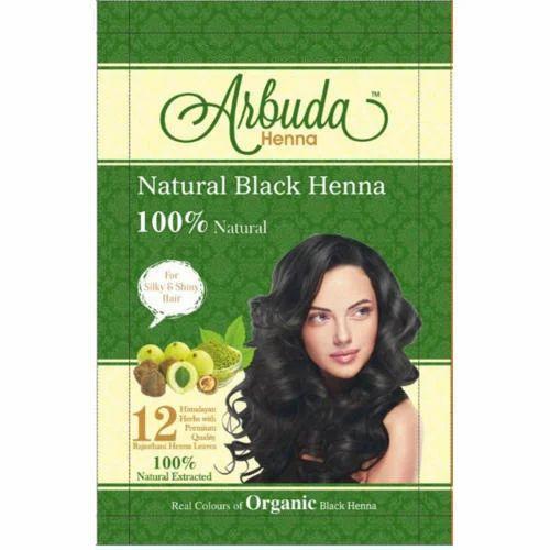 Natural Black Henna Powder Usage Personal Parlour Rs 7 5 Pack