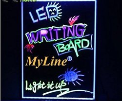 Led writing board 30x 60 cm