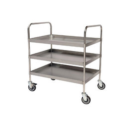 Crome Stainless Steel Kitchen Trolley