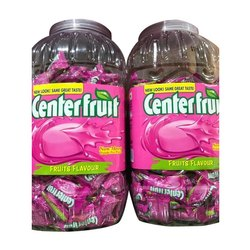 Fruits Center Fruit Chewing Gum, Pack Size: 200 Piece , Packaging Type: Plastic Jar