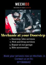 Scooty Doorstep Bike Service In Delhi, 399, Vehicle Model/Year: Gear-less Scooters