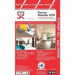 Grey Industrial Grade Fosroc Nitolite GPX Tile Adhesive, 30 Kg