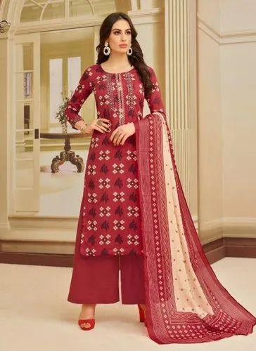 d45a333a3b Women Daily Wear Palazzo Suits, Rs 799 /piece, Surat Wholesale Shop ...