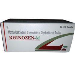 Montelukast 10mg Levocetirizine Dihydrochloride 5mg Tablet