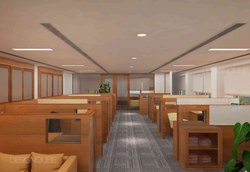 Corporate Office Interior Turnkey Project, Chennai, Turnkey Office Interior