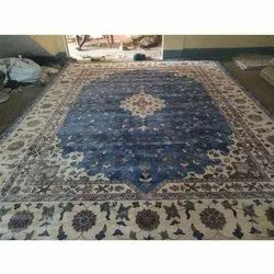 Hand Tuffted Silk Carpets, For Hotel, Size: 5*8 6*9