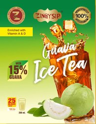Zingysip Natural Guava Ice Tea  ( 500 Gm.) With Natural Vitamin A & D