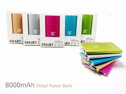 Troops 8000mAh Single Usb Port Metal Power bank