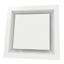 Square Plaque Ceiling Diffuser