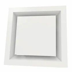 Square Plaque Ceiling Diffuser