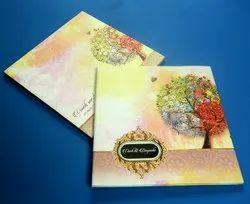 Royal Tri-Fold Insert Hindu Wedding Cards