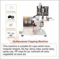 Pump Cap, Spray Cap, Flip Top, Jar Cap Capping Machine