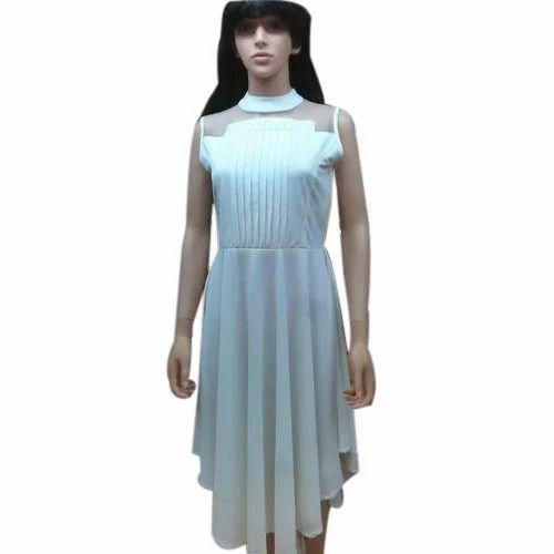 6e5c2338d6b Partywear White Ladies Designer One Piece Dress, Rs 825 /piece   ID ...