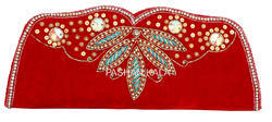 Handmade Beaded Evening Clutch Purse