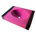 Glass Wash Basin Square ( Multi color)