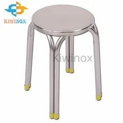 Stainless Steel Railing Stool