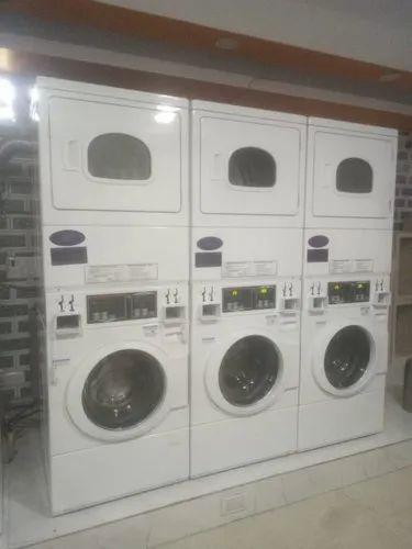 Speed Queen Stacked Washer Dryer