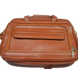 Leather Brown Mens Executive Bag