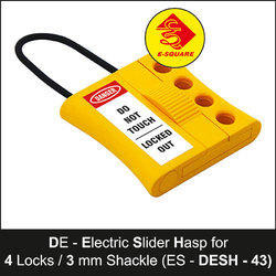 De - Electric Slider Lockout Hasp