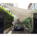 FRP Tensile Car Parking Structure