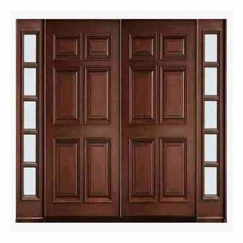 Design U Shaped Modular Kitchen At Rs 125000 Unit: Wooden Main Door Manufacturer From Ghaziabad