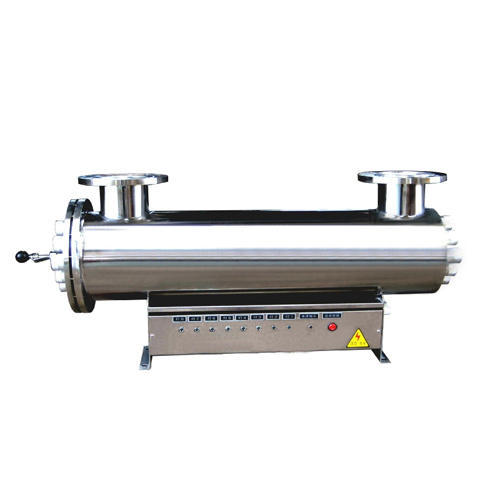 120 X 4W 220V 50Hz Ultraviolet System, UV Wavelength: 253.7 nm, Water Flow: 40T/hour