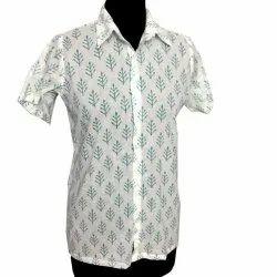 Indian Hand Block 100% Cotton Shirt