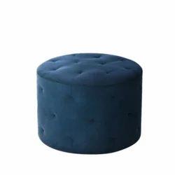 Blue Pouffe Sofa