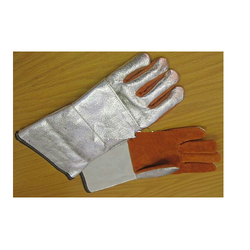 Alumised Kevlar Leather Gloves