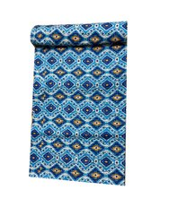 Traditional Cotton Kantha Work Quilt And Coverlet
